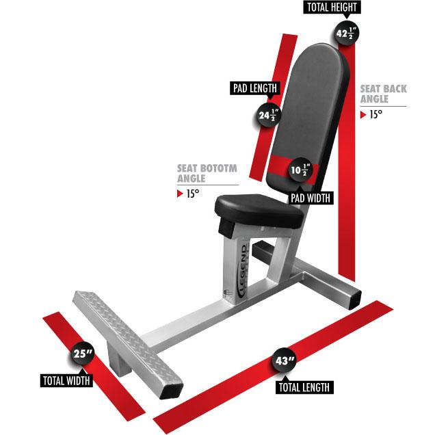 3104 Multi Purpose Bench dimensions