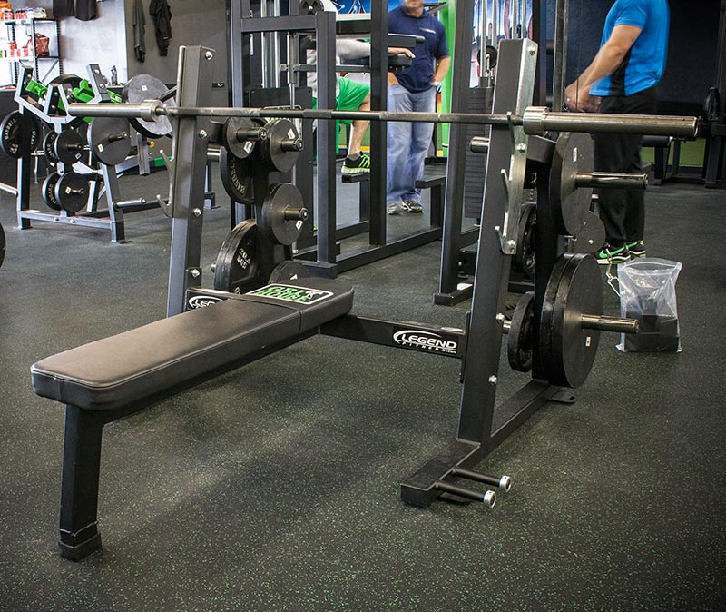 Pro Series Olympic Flat Bench - Legend Fitness