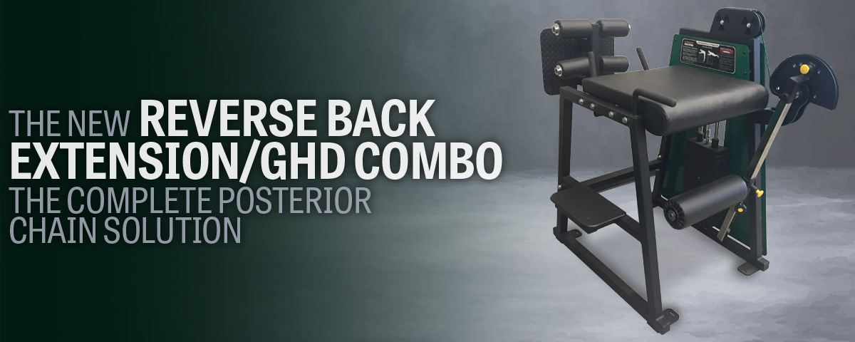 976-GH The New Reverse Back Extension/GHD Combo: The Complete Posterior Chain Solution