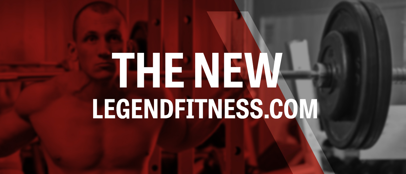5 New Features of the New Legend Fitness Site