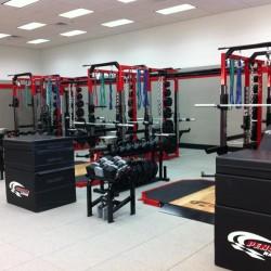 Penske Racing Corporate Weight Room