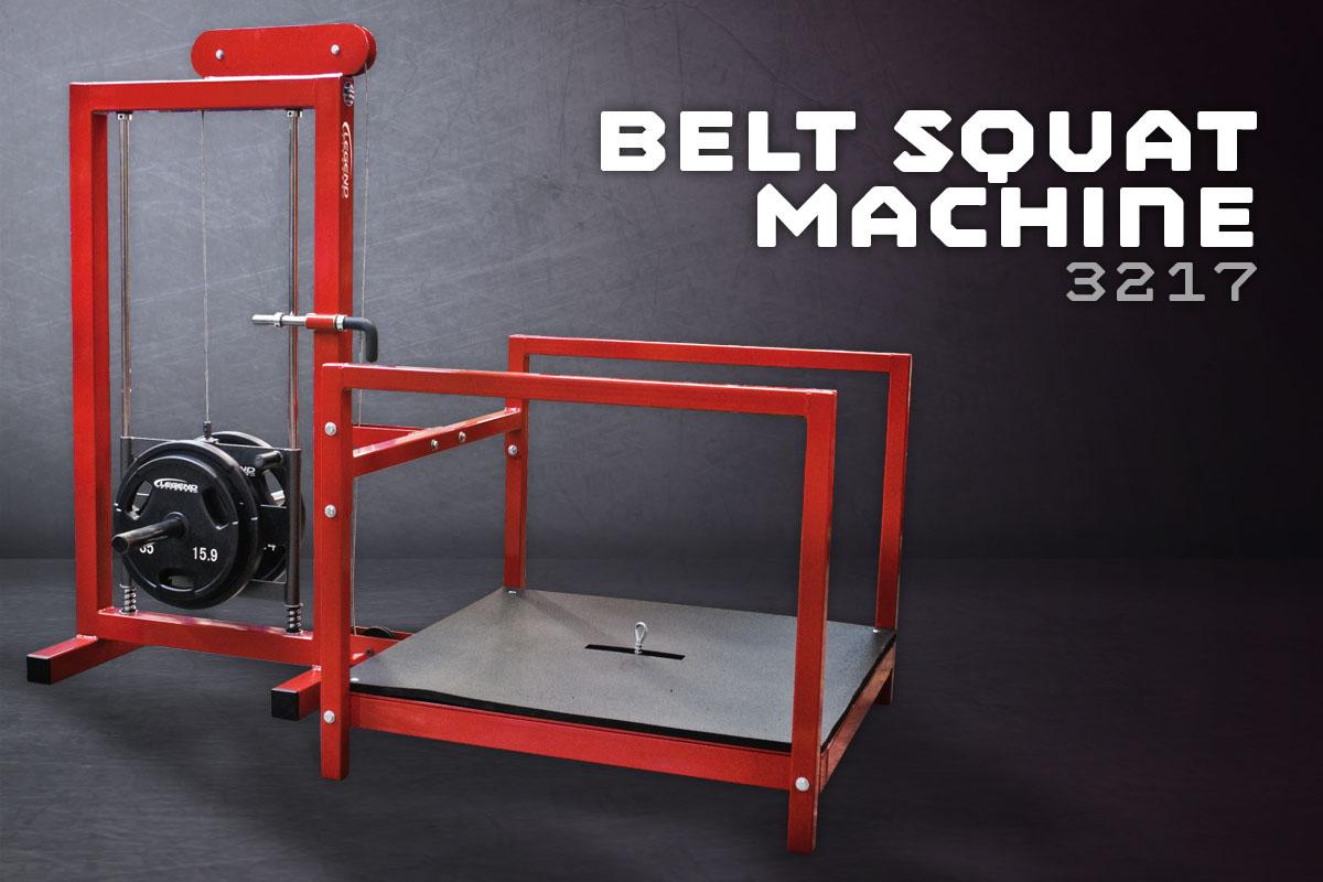 The Belt Squat Machine