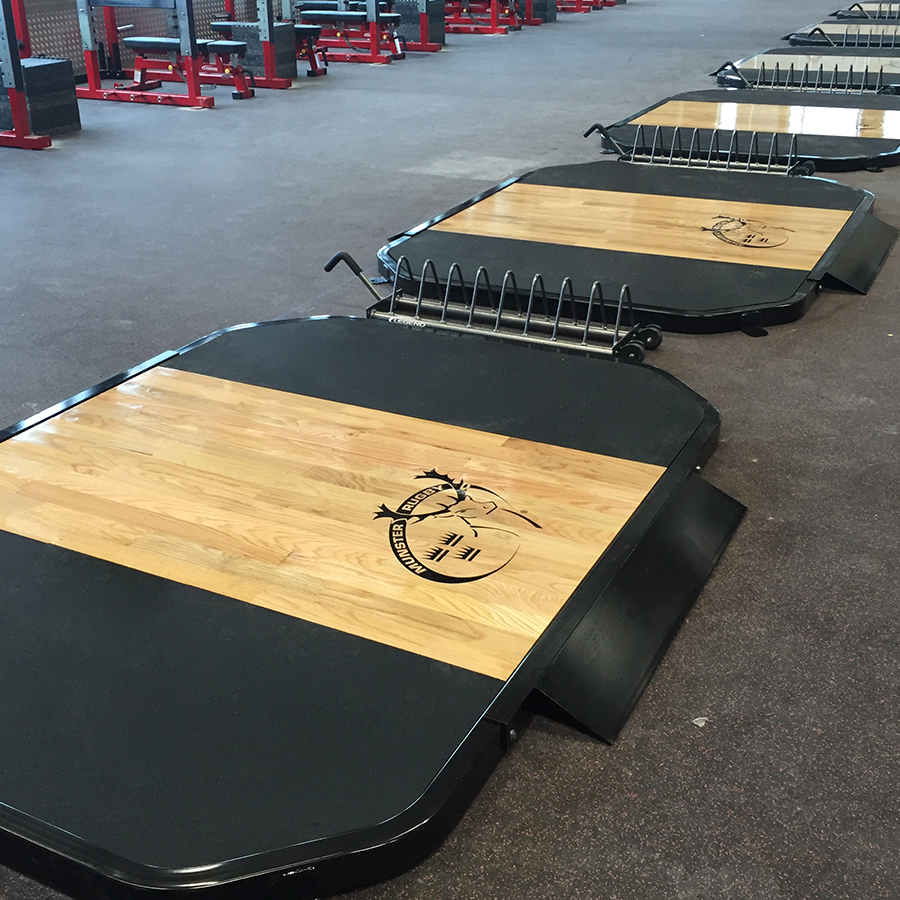 Platforms & Flooring by Legend Fitness