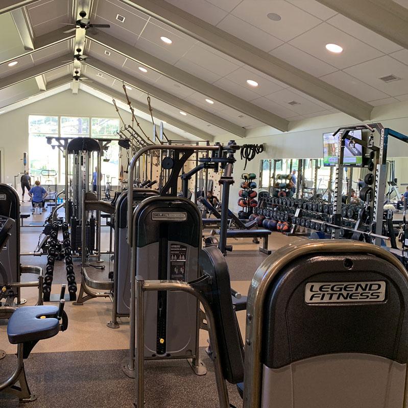 commercial gym design