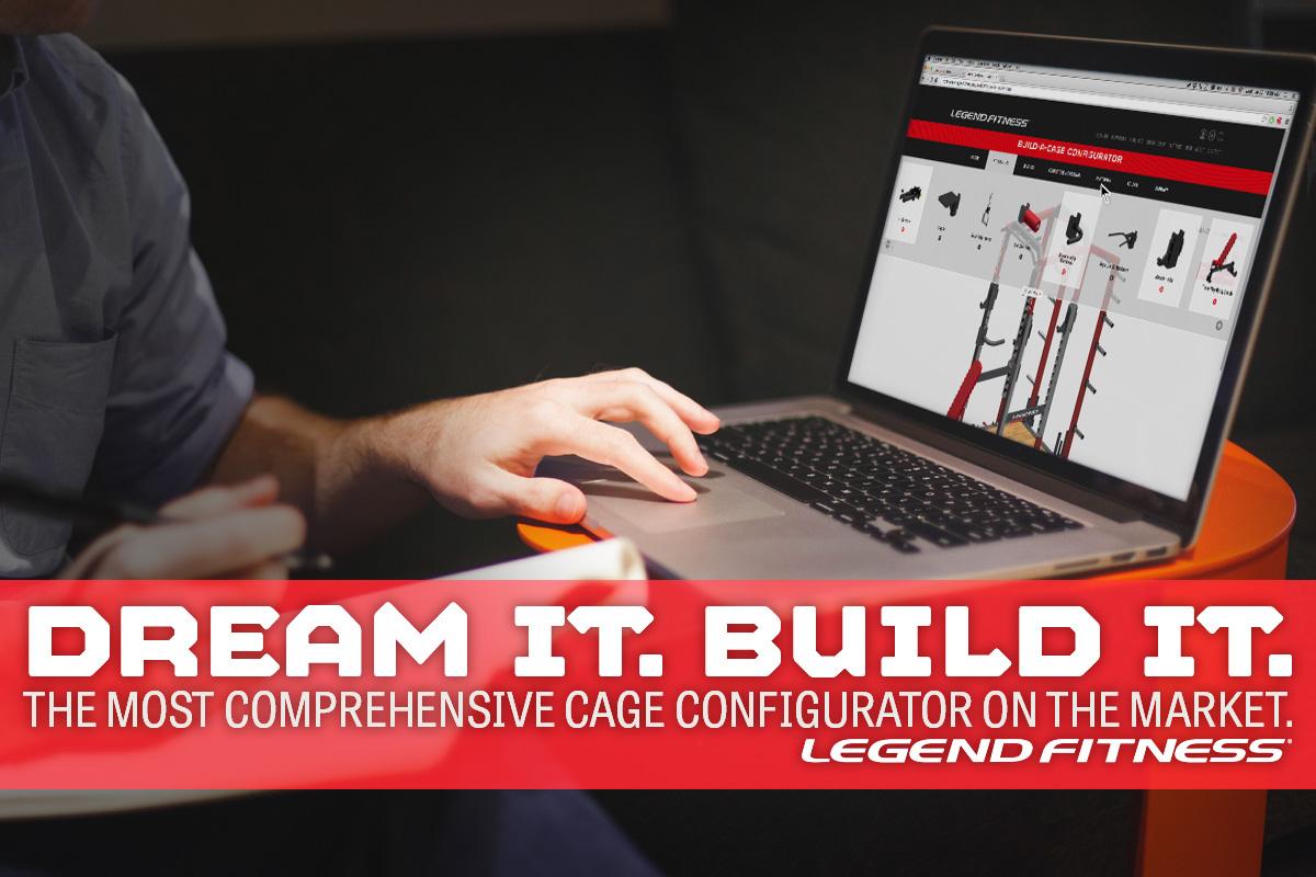 Five Reasons the Legend Fitness Build-A-Cage Configurator is the Best
