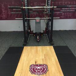 Missouri State University Football Weight Room