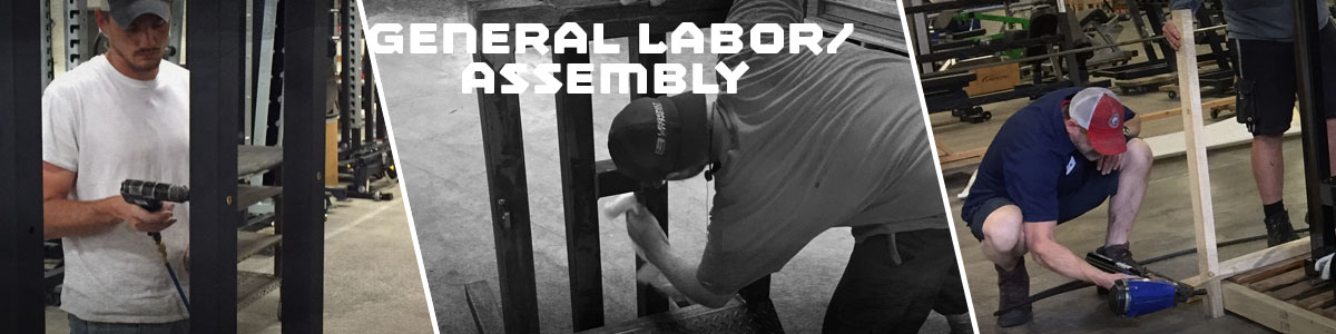 Job Opening: General Labor/Assembly