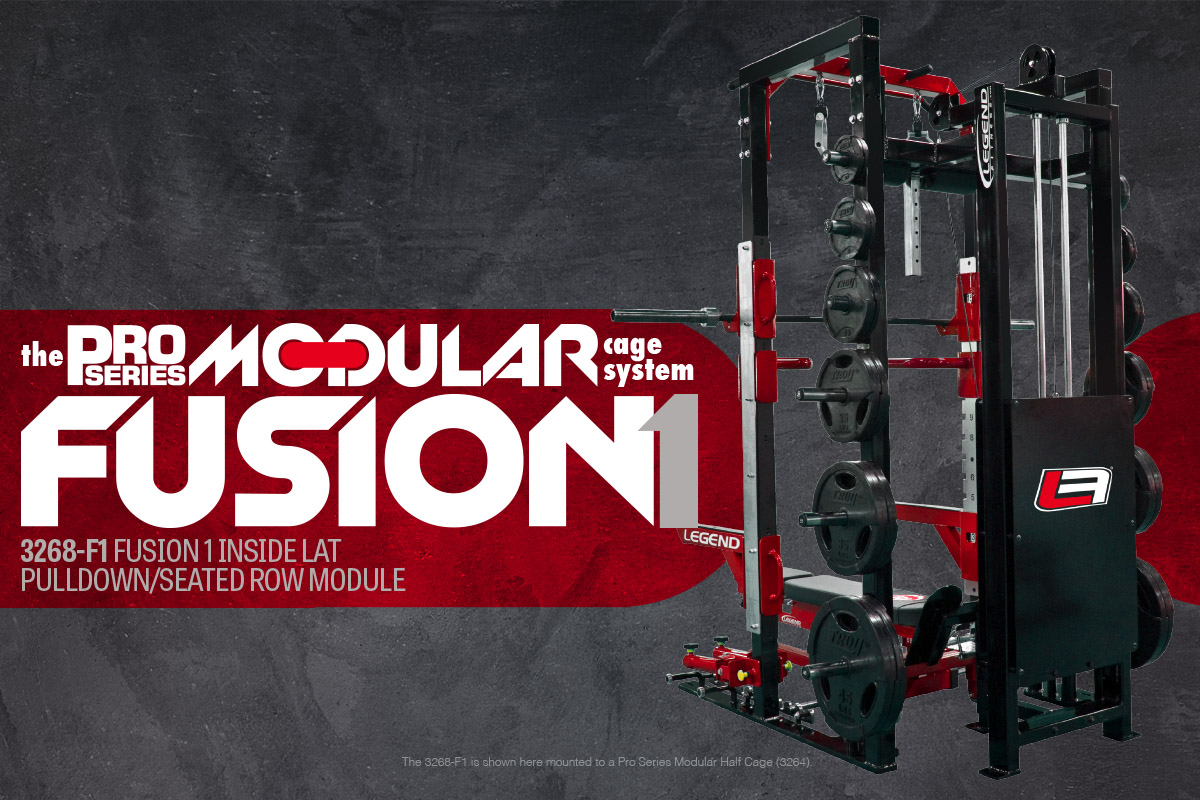 Legend Fitness Modular Cage System Fusion 1 Module