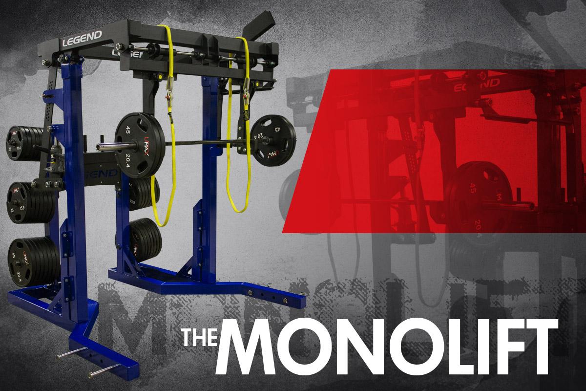 The Class-Leading Legend Fitness Monolift