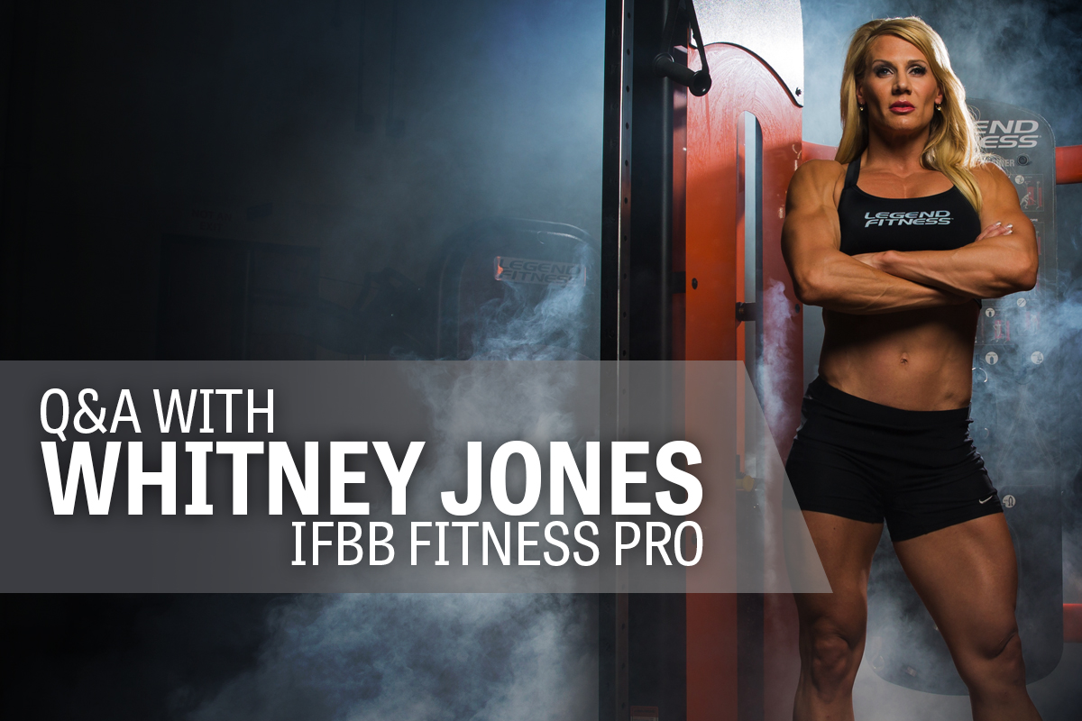 Whitney Jones IFBB Pro